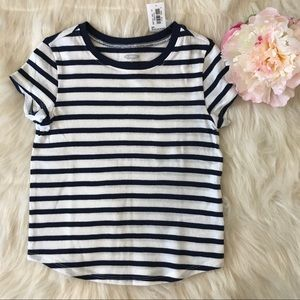 Old Navy Cute & Comfy Navy & White Tee Shirt